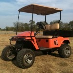 Golf-Cart-General-Lee