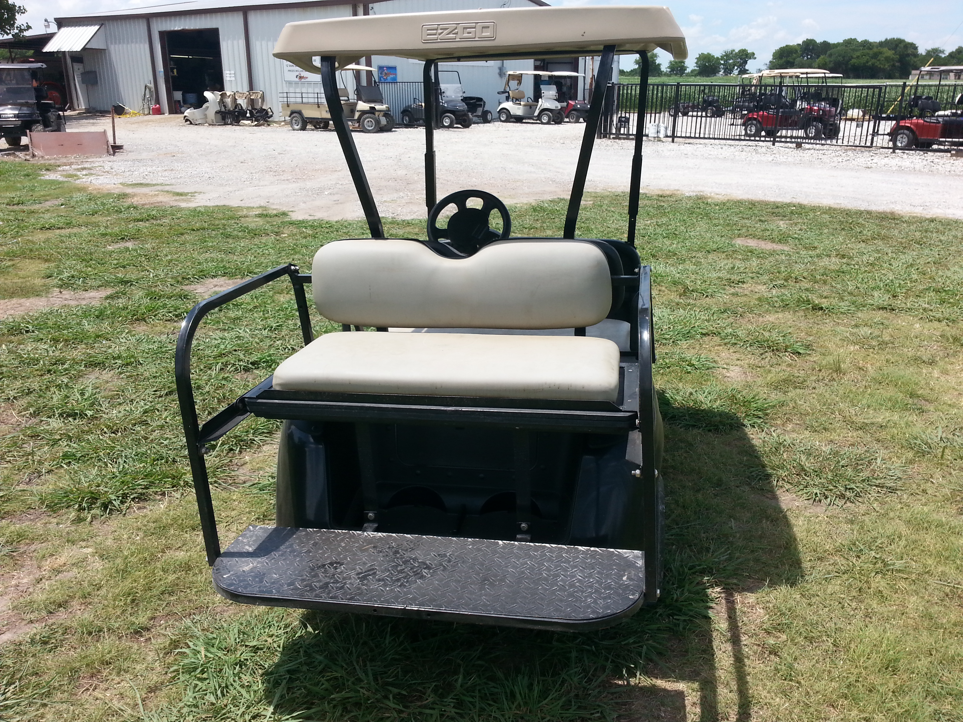 2009 Ez Go Rxv With Rear Seat Kit 4200 Vics Used Carts Wiring Diagram Up View Of